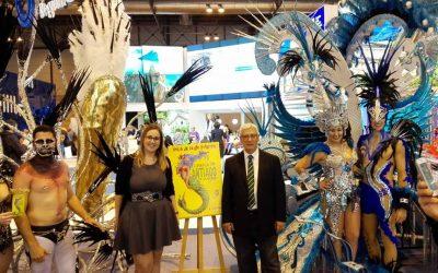 El Carnaval de la Ribera se va a Fitur