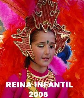REINA INFANTIL 2008